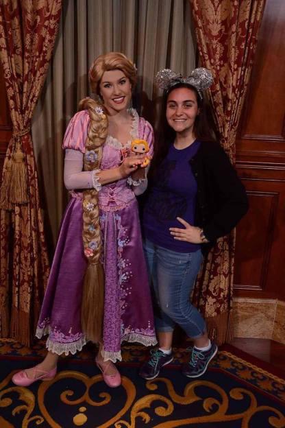 Me, POP! Rapunzel, and real Rapunzel.