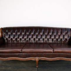 Rental Sofa Best Modular Vintage Leather Out Of The Dust Rentals