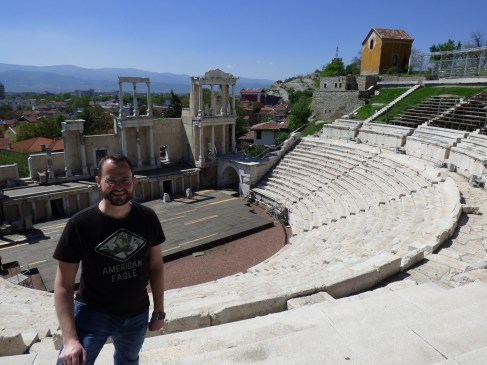 An ampitheatre in Plovdiv, Bulgaria (April 2016)