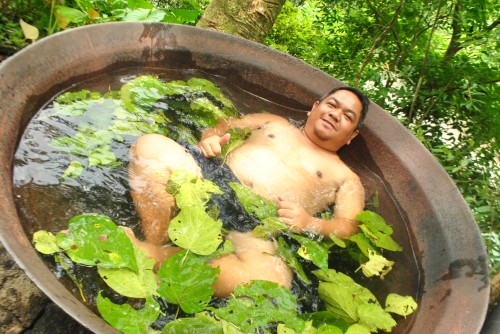 Hot Kawa Bath in Tibiao Antique