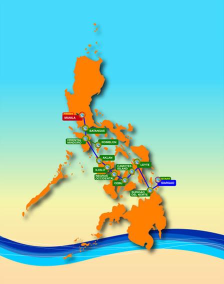 DBP Interisland Race Route