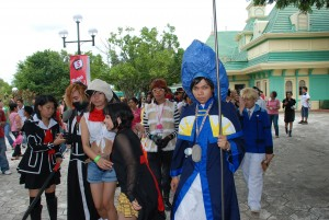 cosplay event in enchanted kingdom
