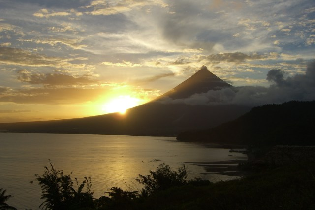 Mayon Volcano Misibis Sunset