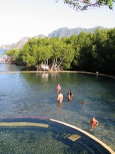 Maquinit Hot Springs in Coron Palawan