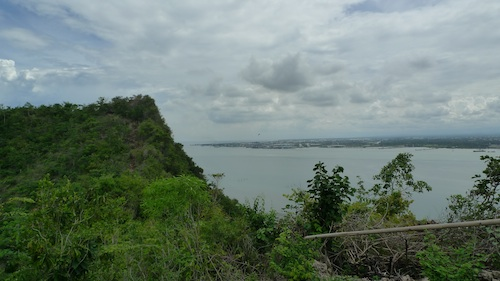 Overlooking Iloilo City