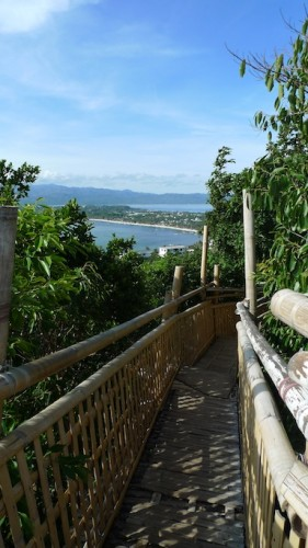 bamboo view deck