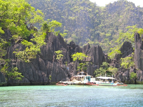 Barracuda Lake philippines beautiful lakes