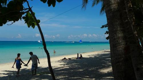 Boracay beach front guesthouses