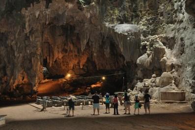 Inside Callao Cave