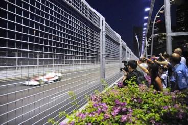 Media Coverage in Singapore F1 Grand Prix