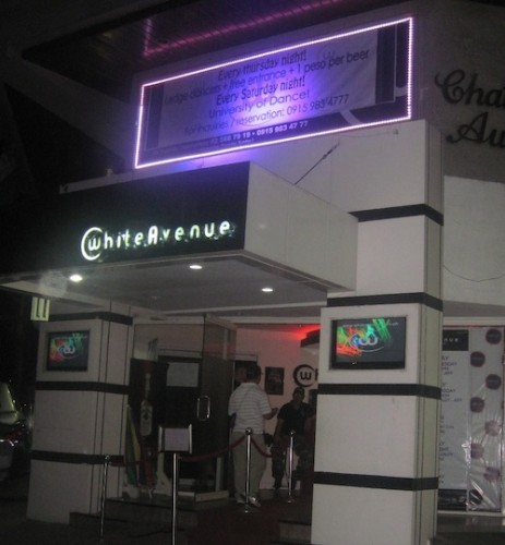 white avenue bar quezon city