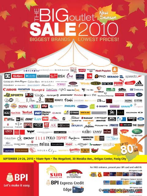 Biggest Outlet Sale 2010