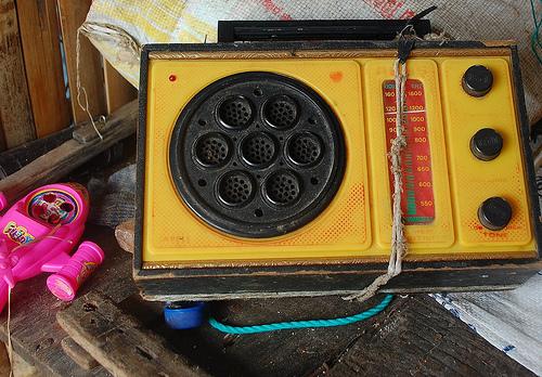 old transistor