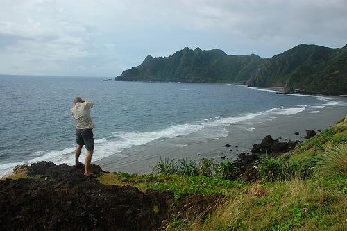 Photographer in Sabtang