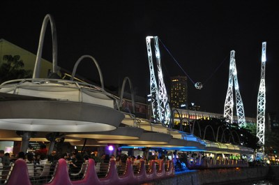 Night Life in Clarke Quay