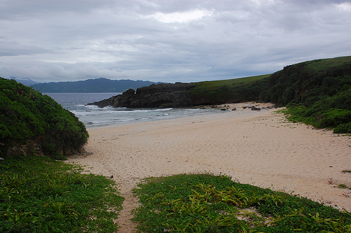 White Sand Beach in Batanes