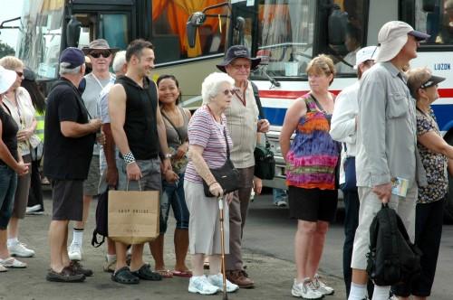 British Tourists in Manila