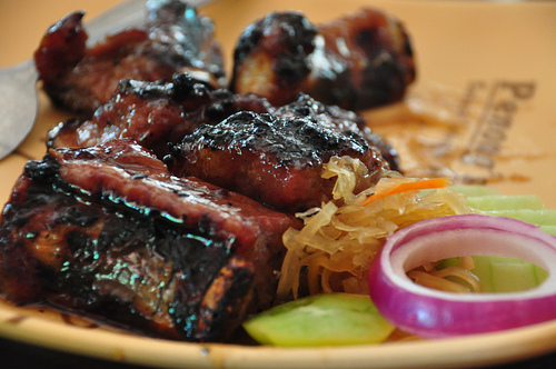 Grilled Spareribs
