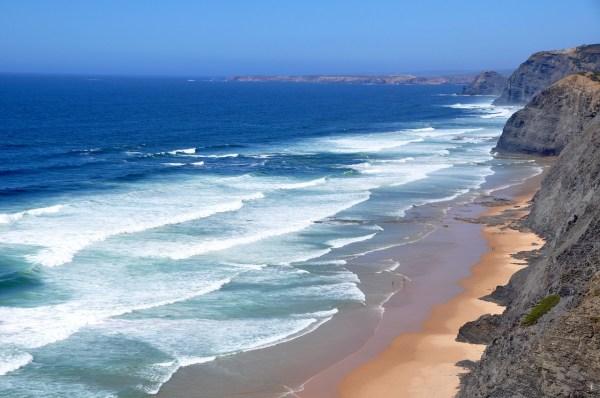 Beach in West Coast Algarve