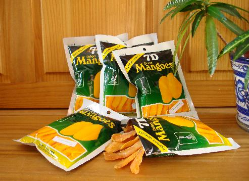 Cebu's 7D Dried Mangoes