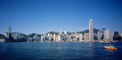 Harbour - View of Hong Kong from Kowloon