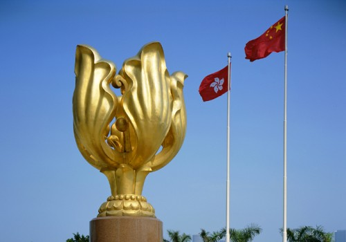 The Forever Blooming Bauhinia Sculpture