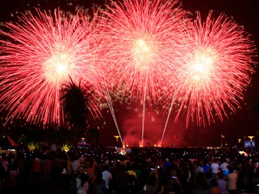 Amazing Fireworks Display by Team China