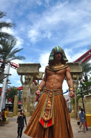 Ancient Egypt at the Universal Studios Singapore