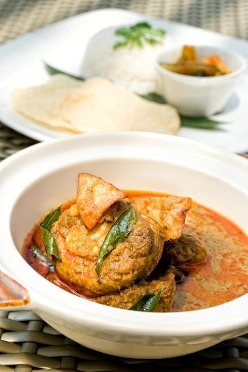 singapore chicken curry