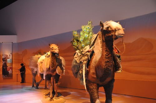 Silk Road Exhibition Entrance