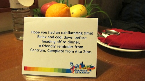 A reminder from Centrum