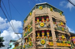 Rice Decorated House