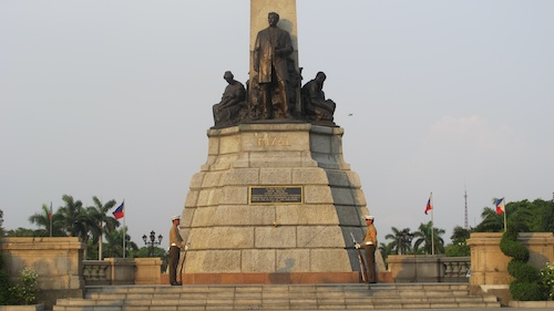 Rizal Monument in Luneta