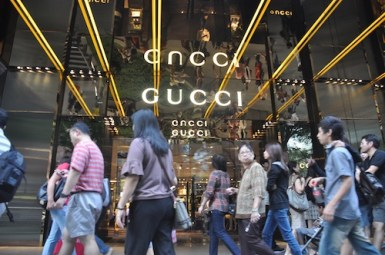 Shopping in Orchard Road Singapore