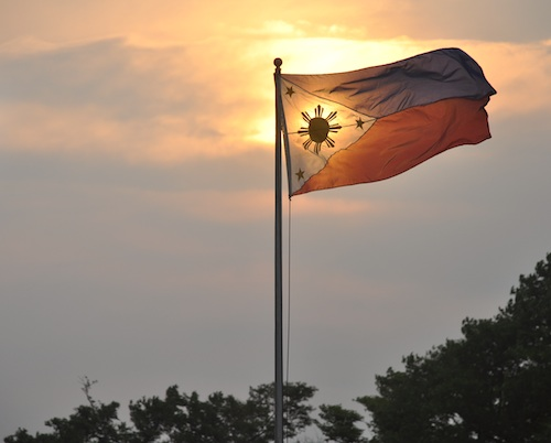 Sunset in Luneta Park