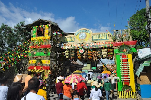 Araña at Baluarte of Barangay Rizal