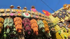 Hanging Fruits and Vegetables under the Baluarte