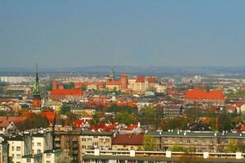 View in Krakow