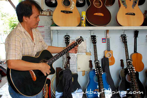 Guitar Maker in Cebu