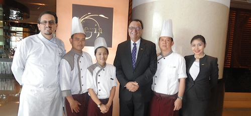 Thai Chefs with GM, Marco & MIna