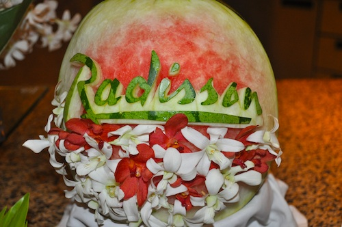 Thai Fruit Carvings