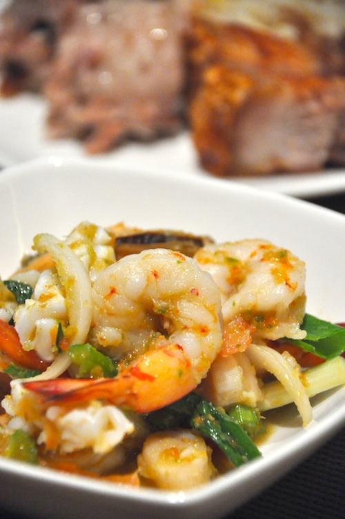 Yam Ta Lay - Spicy Seafood Salad