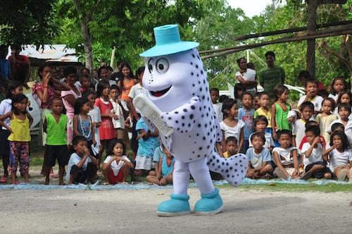 Meloy Hambongan Island Pride Campaign Mascot
