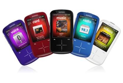 SanDisk Sansa Fuze+ MP3 8gb