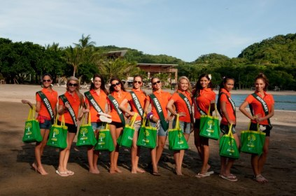 Miss Earth Delegates at Pico De Loro Beach & Country Club