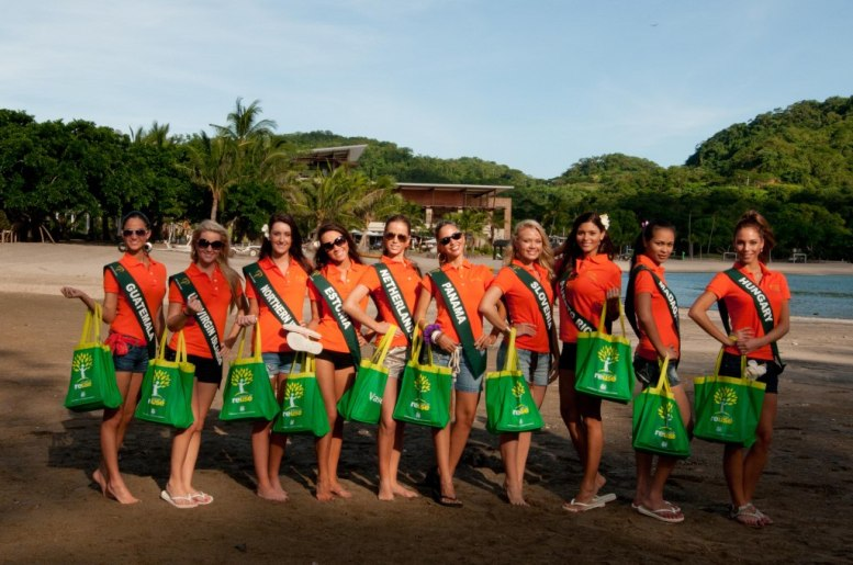 Miss Earth Delegates at Pico De Loro Beach & Country Club