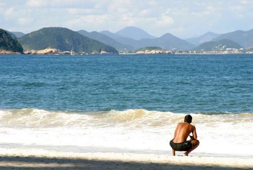 Copacobana Beach in brazil