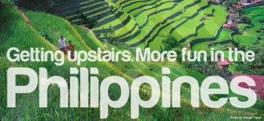 Getting Upstairs is More fun in the Philippines