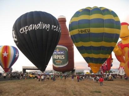 Hot Air Balloons Fiesta in Pampanga