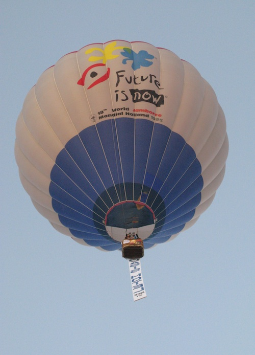Hot Air Balloons schedule activity